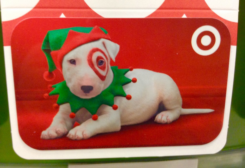 Target Christmas Gift Card, 12/2014 by Mike Mozart of TheT… | Flickr