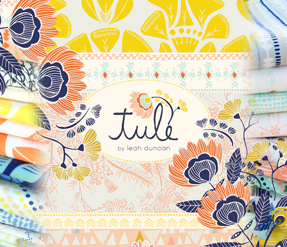 Art Gallery Fabrics Tule Collection by Leah Duncan