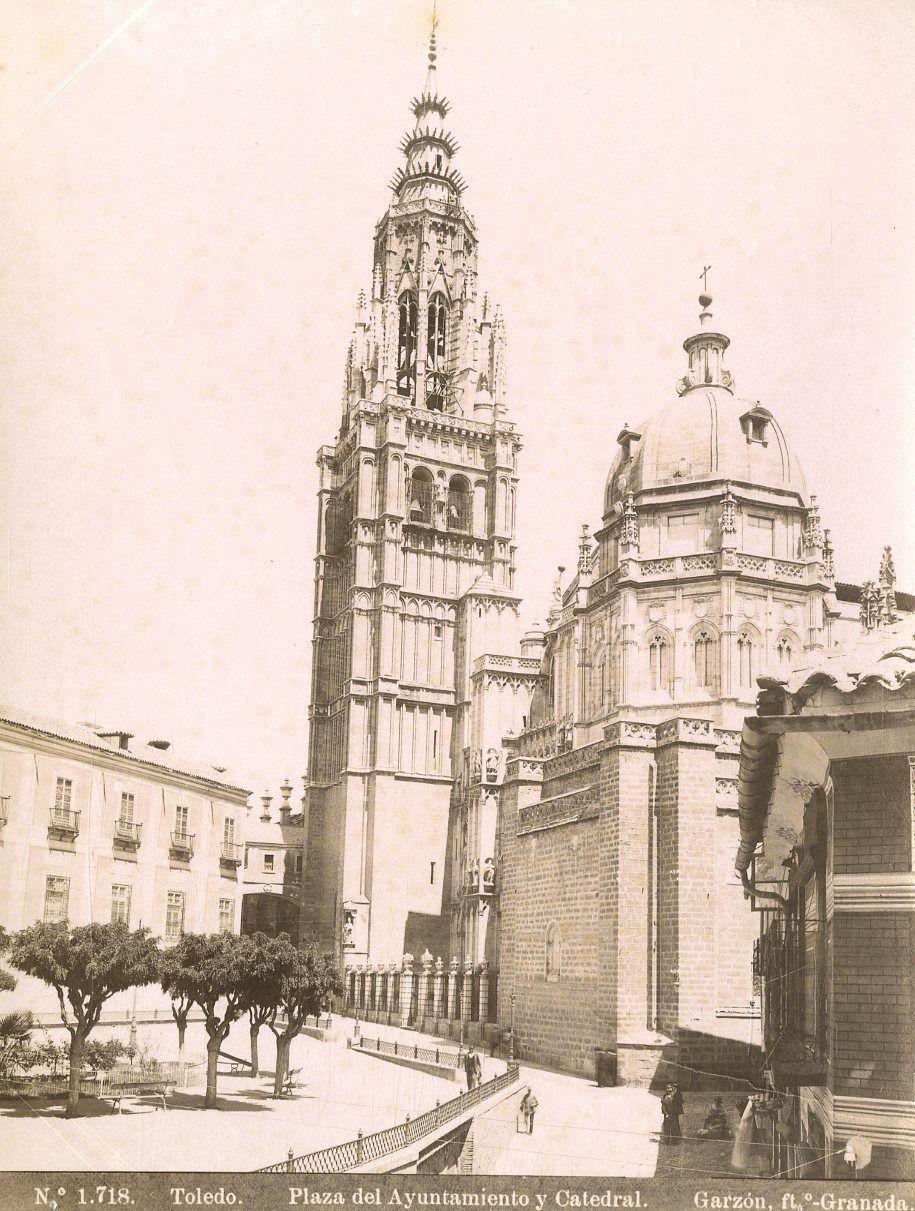 Catedral en 1897 por Rafael Garzón
