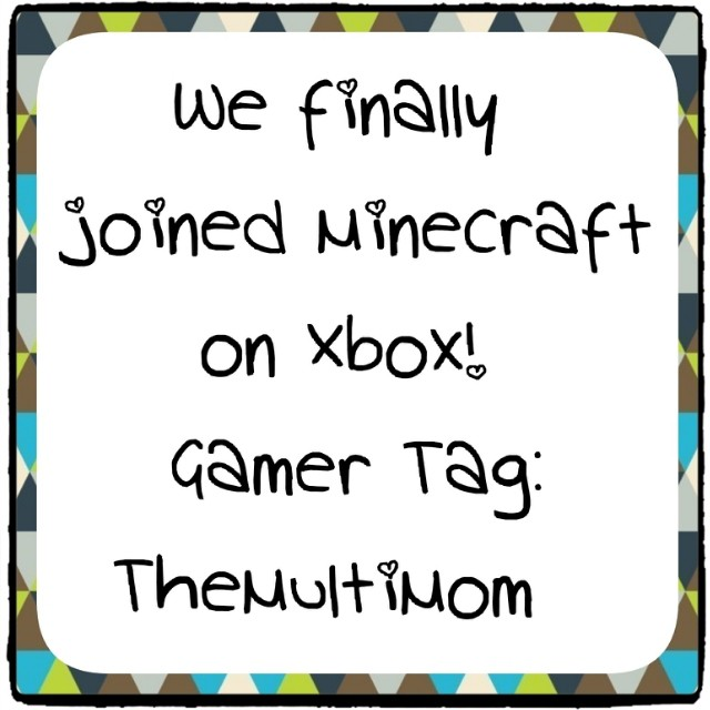in after getting an xbox for christmas we officially joined the minecraft community in - Christmas Minecraft Videos