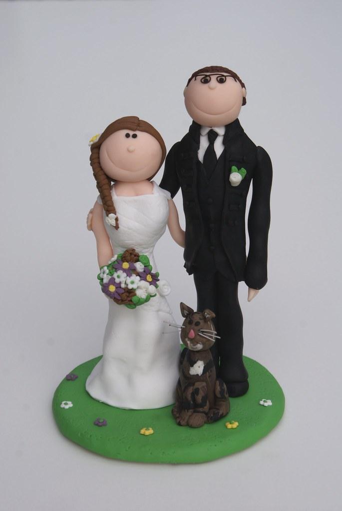 Hochzeitstortenfigur Www Suessesatelier De Susses Atelier Flickr