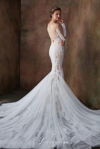 【高雄禮服評價推薦】聖羅雅麗緻婚紗101件禮服的秘密_Atelier Pronovias_裸紗_(1)