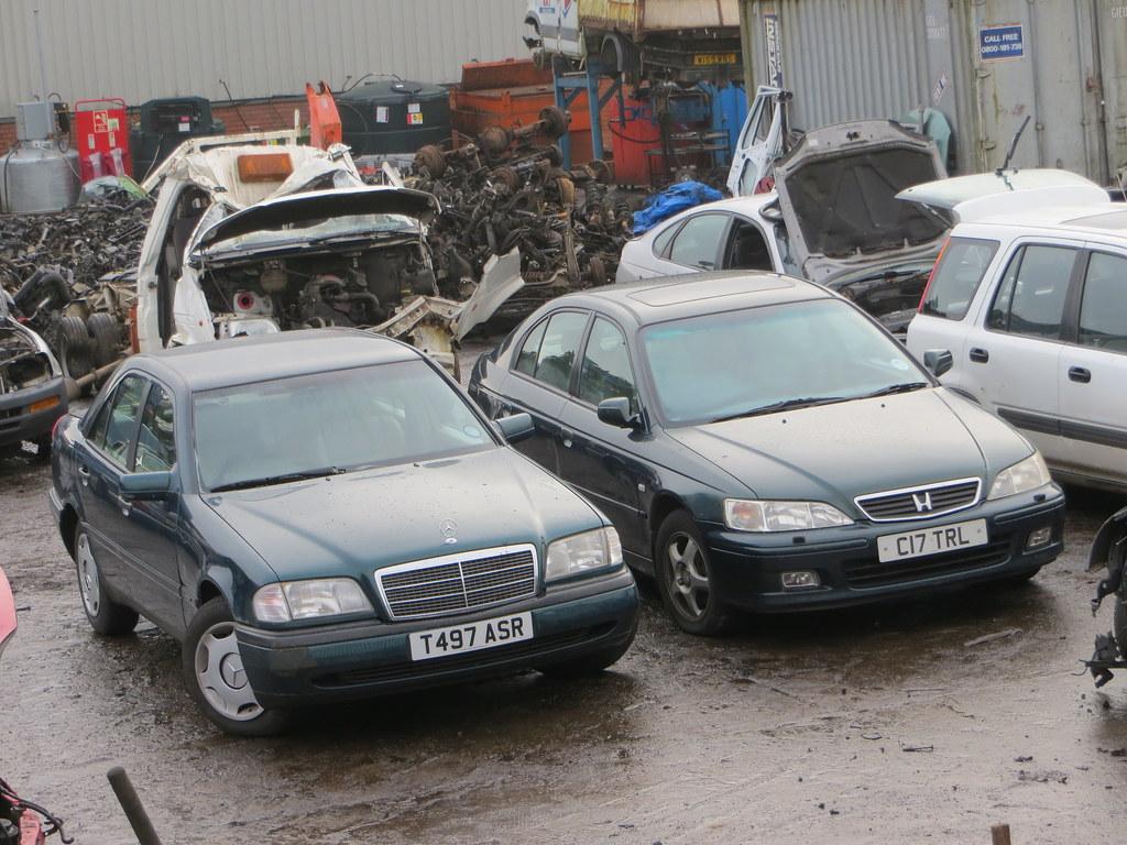 1999 Mercedes Benz C180 Classic And 2000 Honda Accord Vtec Flickr Engine Se Exec Auto By Goldscotland71