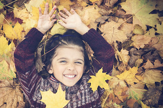 autumn leave child | by Philippe Put