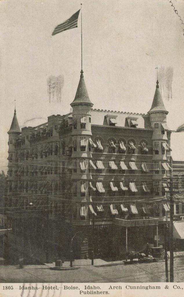 Idanha Hotel - Boise, Idaho