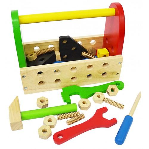 Đồ chơi gỗ - Kỹ Năng - Bộ đồ nghề kỹ sư chế tạo