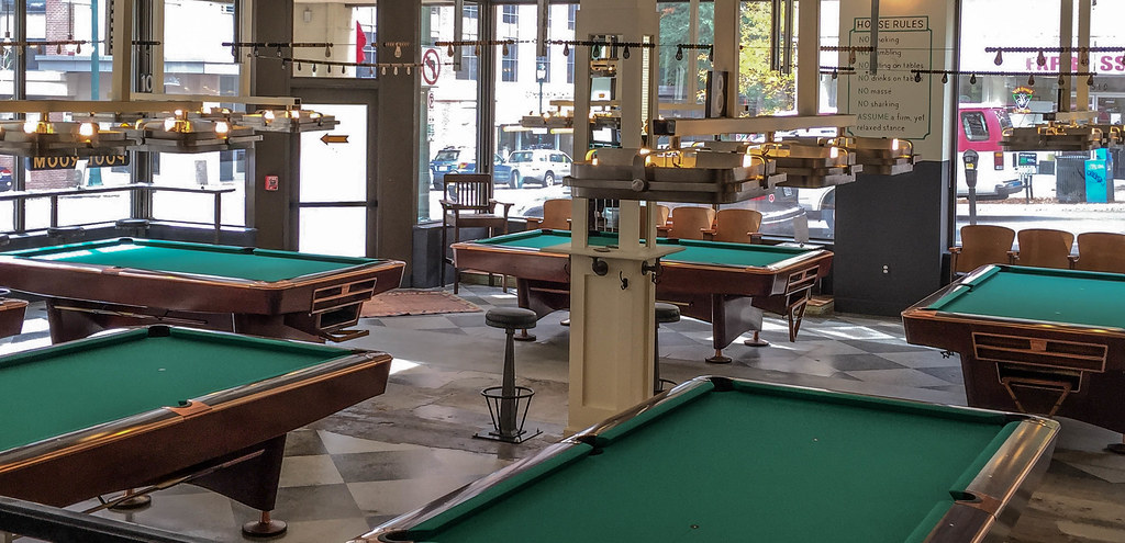 ... Greenleafu0027s Pool Room, Richmond VA | By Ames Sf