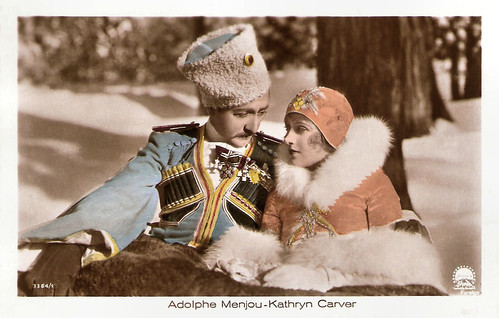 Adolphe Menjou and Kathryn Carver in Service for Ladies (1927)
