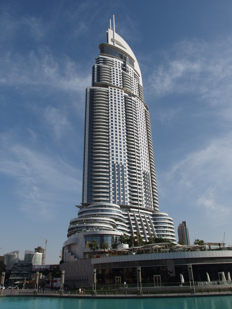10 tallest hotels in the world world 39 s tallest hotels for Biggest hotel in dubai