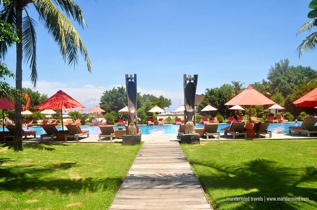 Hotel Ombak Sunset Pool Area