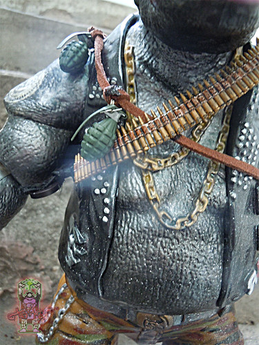 tOkKustom :: NEW CLASSIC 'FOOT' Trio :: ROCKSTEADY vi / ..Grenade & OLD SCHOOL AMMO BELT Bandoliers