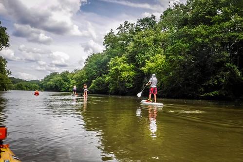 Kayaking and SUP on Saluda Lake-29