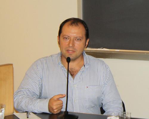 La Novela Policíaca Mexicana los Minutos Negros: Una Conversación con Martín Solares. May 3, 2010