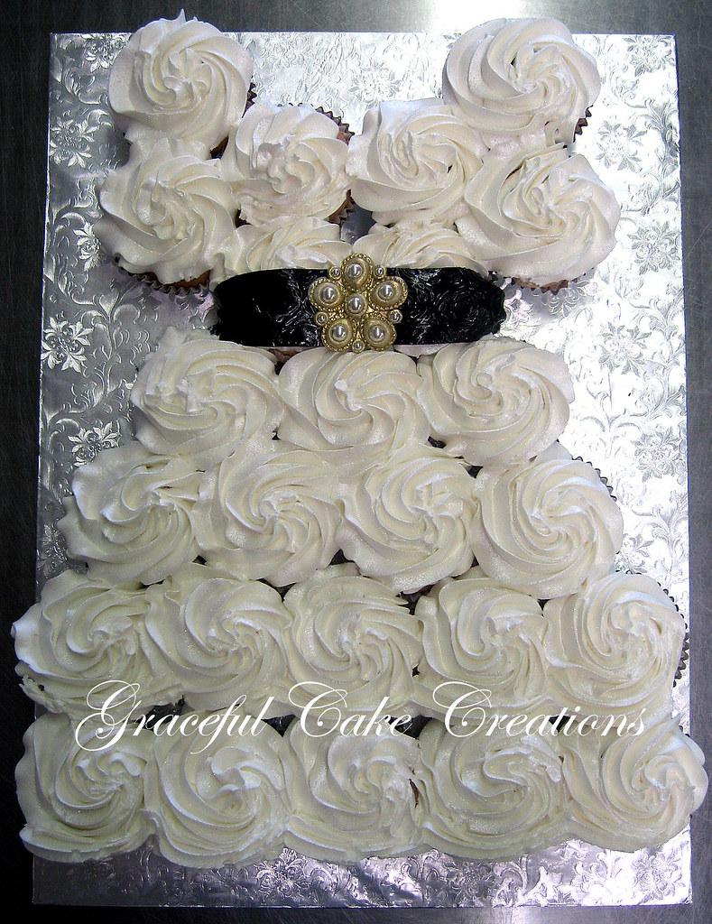 Bridal Shower Cupcake Wedding Dress | Grace Tari | Flickr