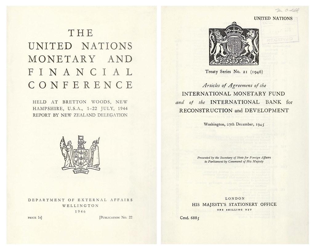International Monetary Fund Formed 1945 On December 27 194 Flickr