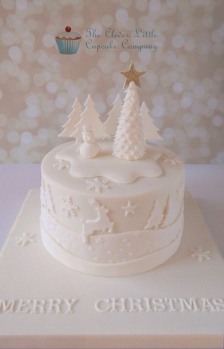 Tonal Christmas Cake