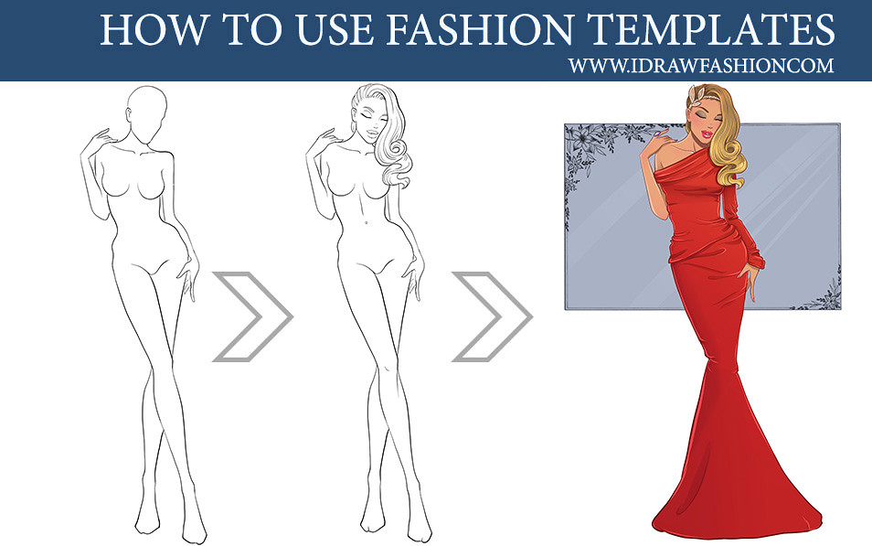 How To Use Fashion Templates For Fashion Design Sketches Flickr