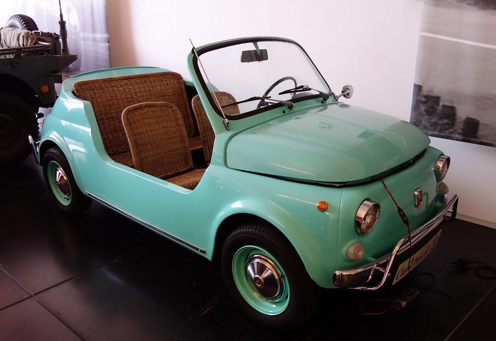 Fiat 500 Jolly Replica 1970 Classic Park Museum Boxtel Flickr