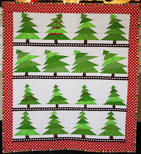 The Tree Lot Mini Quilt | by twiddletails