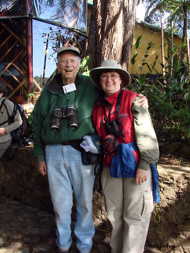 Laura and Chandler Robbins in Guatemala, 2007