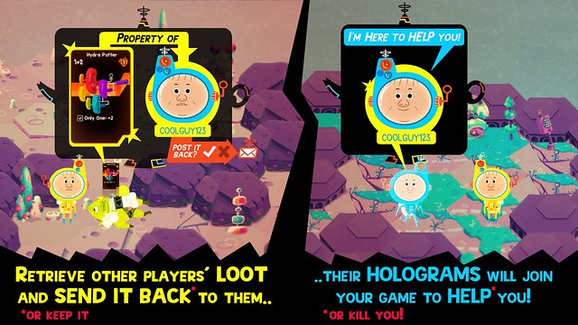 Loot Rascals: Network Explanation