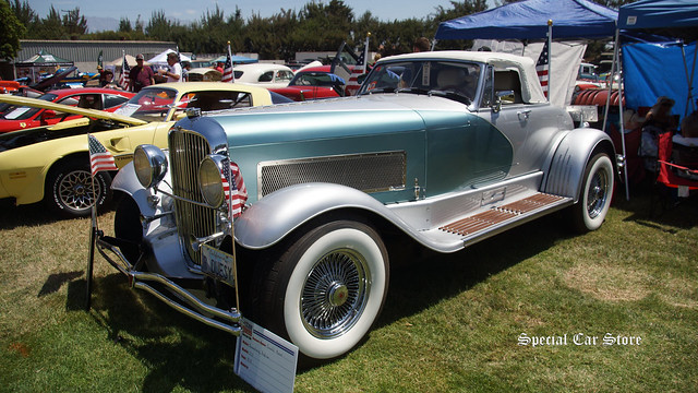 1935 Duesenberg SSJ Replica at Steve McQueen Car Show 2016