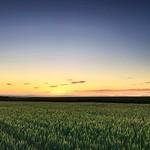 Idaho Sunset in Teton Valley