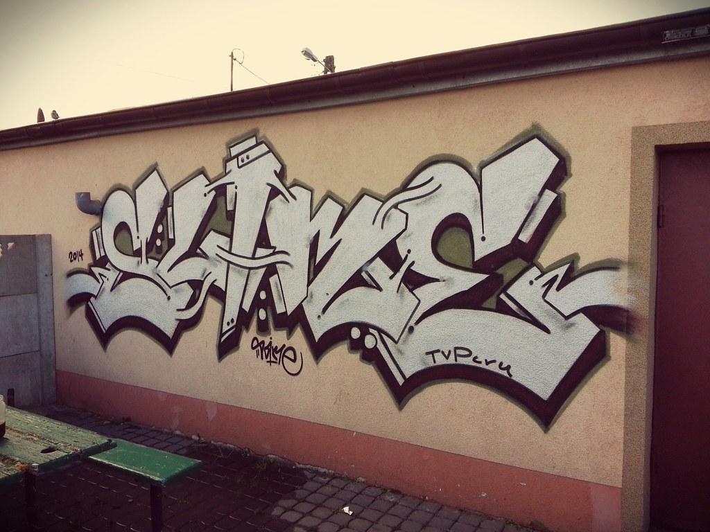 Slime Graffiti Throw Up Wild Style Chrome Slime Street Art Art