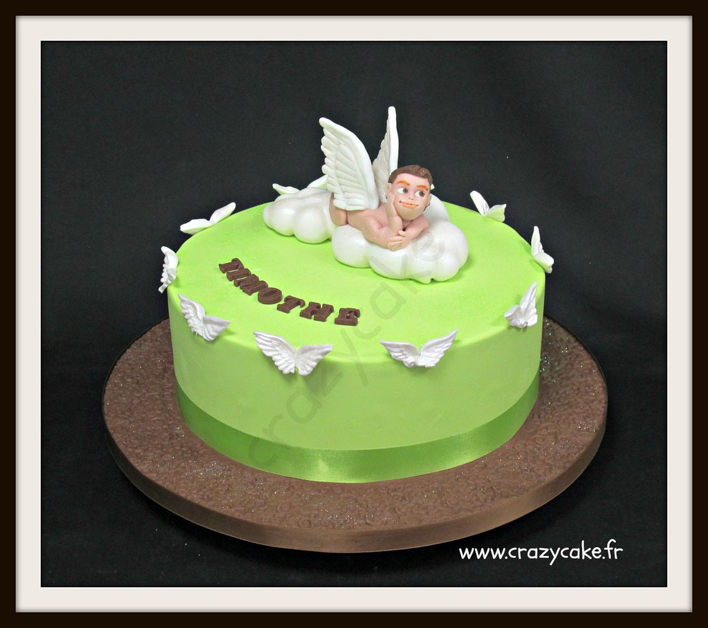 Birthday Cake Angel Design