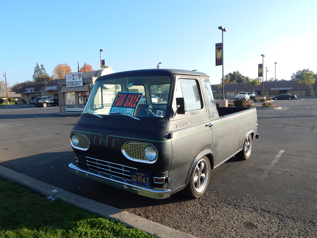 Ford Econoline Pickup 1961 1967 Strange Little Fo Flickr Truck By Bob The Real Deal