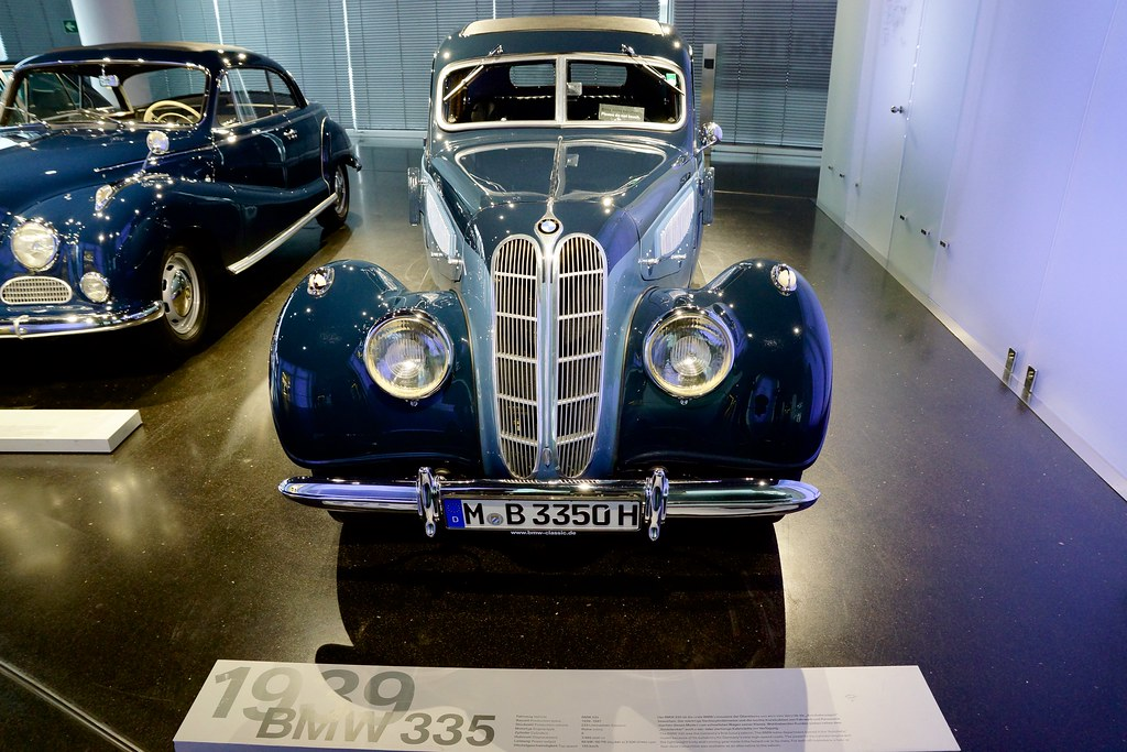1939 Bmw 335 At The Bmw Museum In Munich Bavaria Germany Flickr