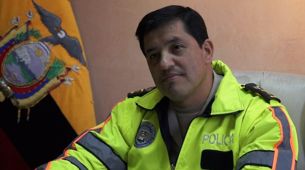 El nuevo comandante del Distrito de Policía Eloy Alfaro, c… | Flickr