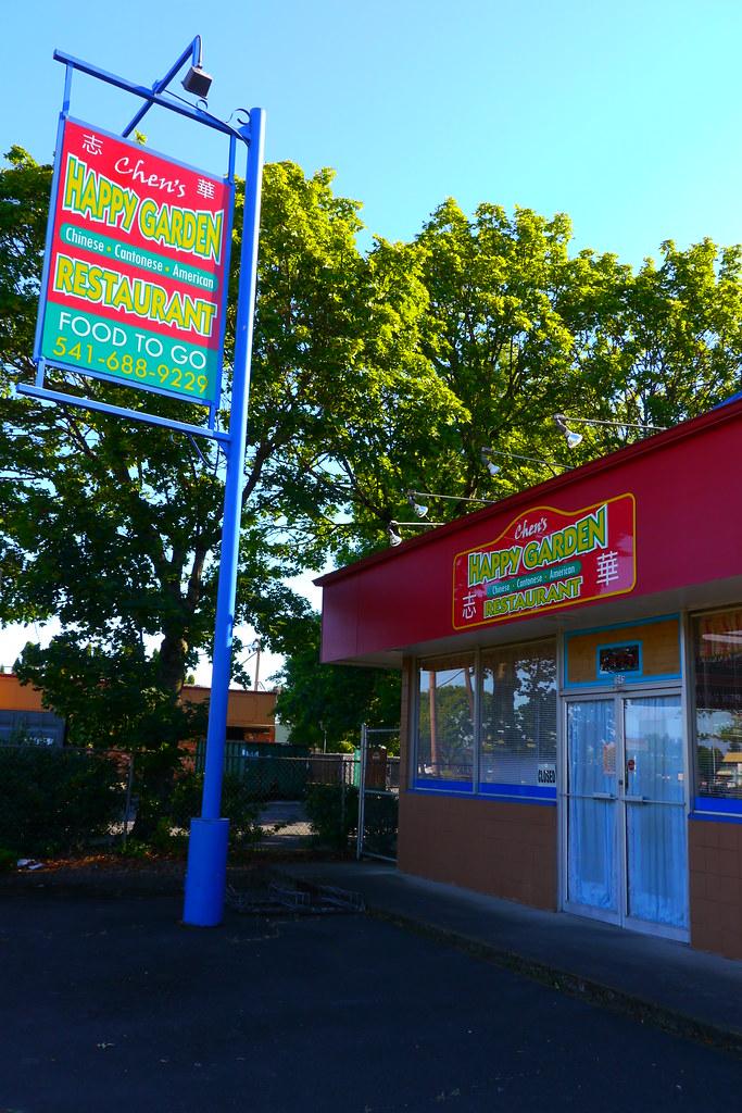 Chens Happy Garden Chinese Restaurant In Eugene Oregon Flickr