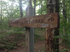 Dockery Lake Trail Sign