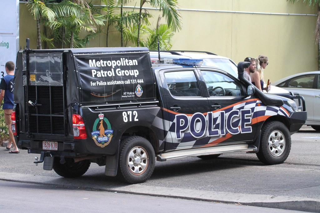 Northern Territory Police Caged Toyota Hilux Vehicle Mitc Flickr