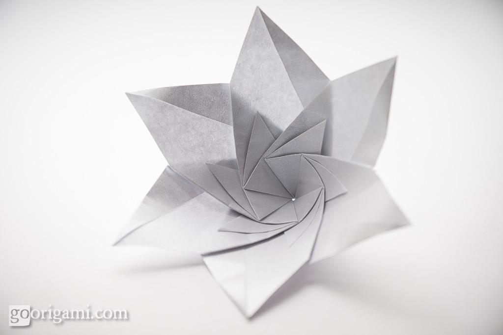 Modular origami flower modular origami flower maria sinay flickr modular origami flower by maria sinayskaya mightylinksfo
