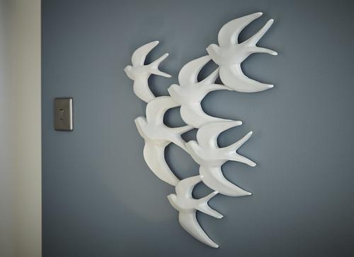 Bedroom Wall Art Ceramic Flying Birds We Ve Released