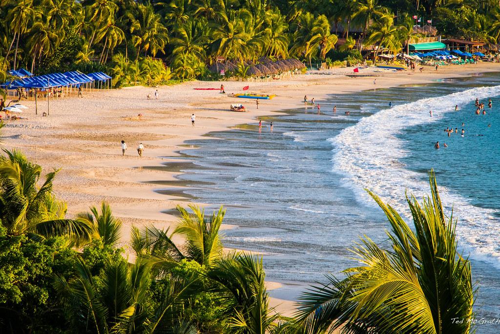 mexican beach zihuatanejo