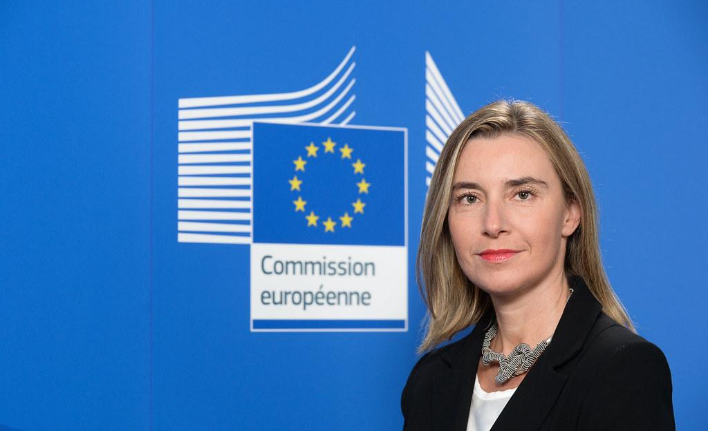 Federica Mogherini, Alta representante de la UE para relaciones exteriores y vicepresidenta de la Comisión Europea