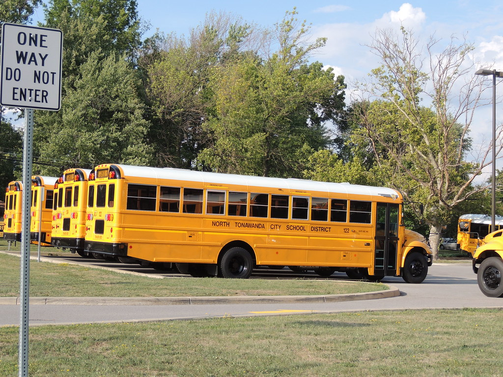 school buses of niagara county new york flickr. Black Bedroom Furniture Sets. Home Design Ideas