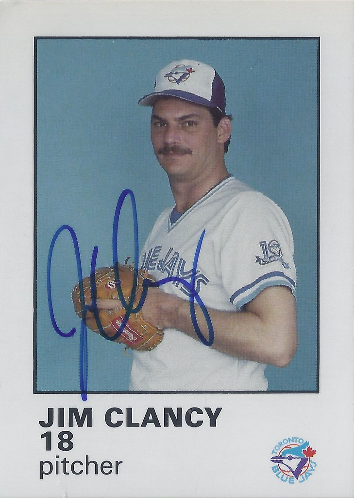 1987 Blue Jays Fire Safety Jim Clancy 18 5 Pitcher Flickr