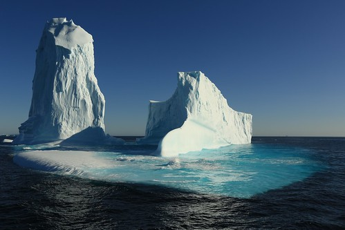 Towering Remnants of an Arched Iceberg 6 Davis Strait Canada | by eriagn