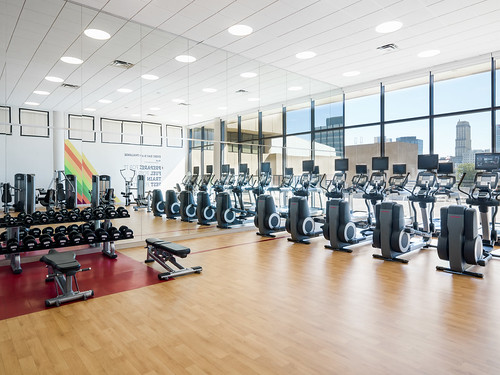 Fitness Room | by Sheraton Memphis Downtown Hotel