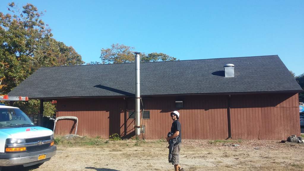 ... Long Island Wildlife Refuge Complex - Wertheim Shop after roof repair - by U. S. Fish and