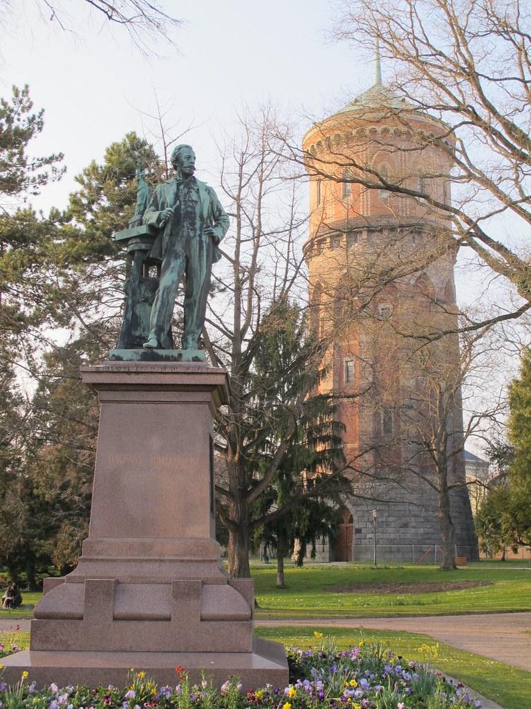 Monument à Bartholdi (1907), Hubert-Louis Noël et Antoine …   Flickr