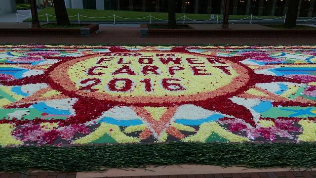 SAPPRO  Flower Carpet 2016サッポロ フラワーカーペット2016_02
