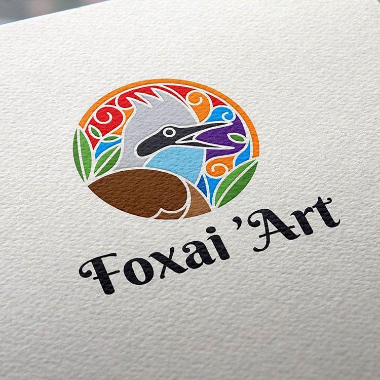 Logo For Foxai Art A Handmade Craft Store Logos Logomark