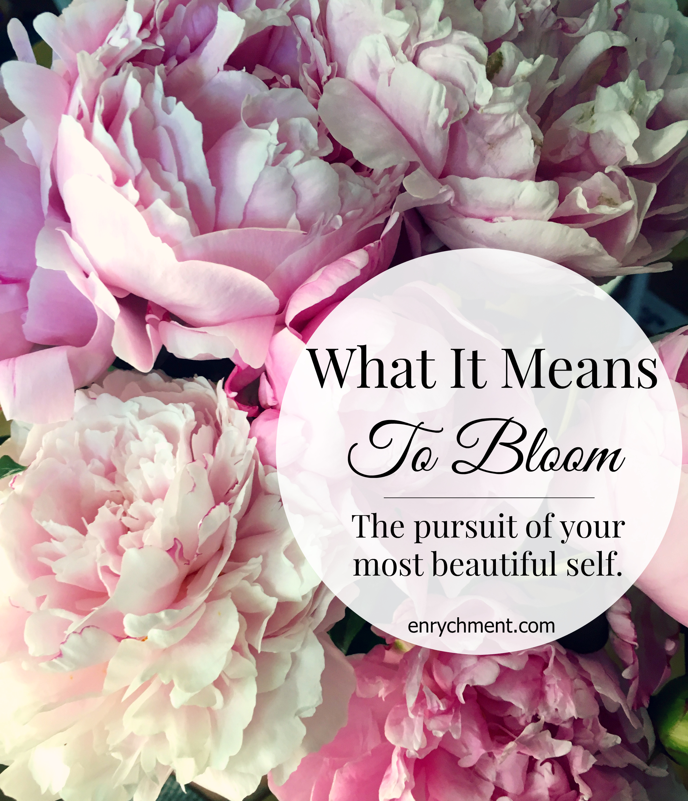 What It Means To Bloom: exploring a beautiful core desired feeling that women and moms everywhere share