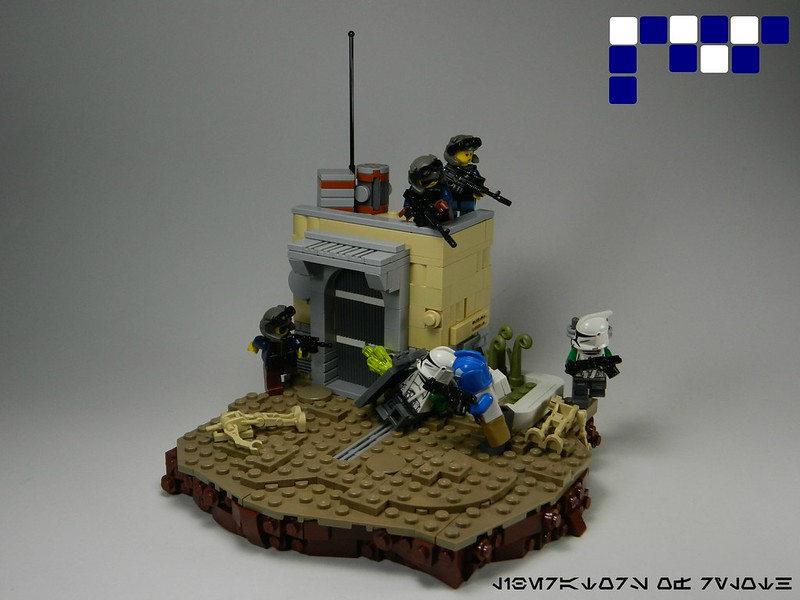 Moc Ambushed Lego Star Wars Eurobricks Forums