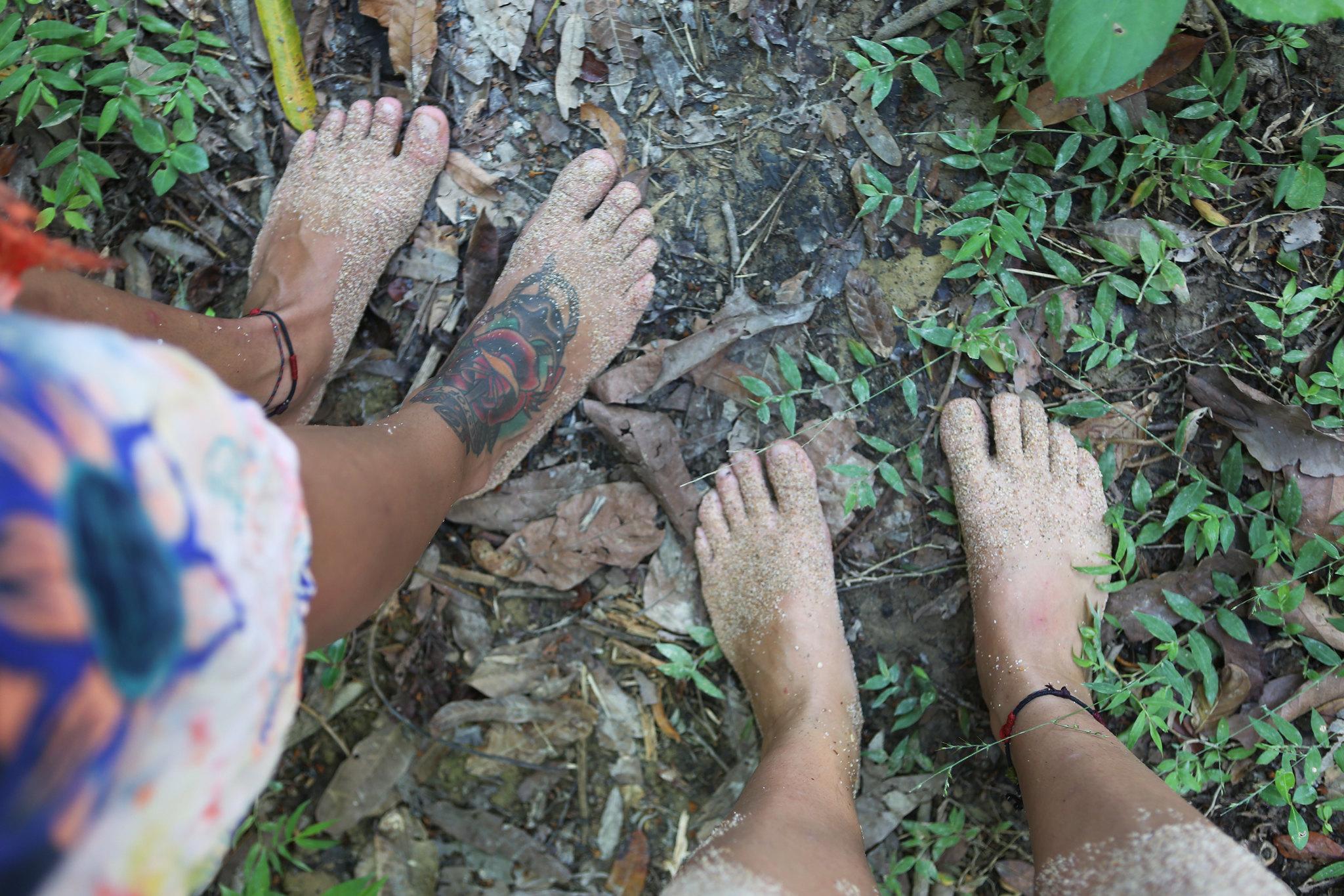 Barefoot jungle walk, Ko Lanta